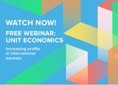 Watch now! Free webinar: Increasing profits in international markets