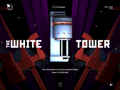 Our new project WebVR site for the White Tower featured on Muzli!