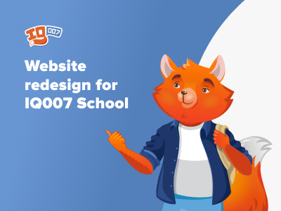 Case study: Website redesign for IQ 007 School of Speed Reading