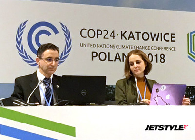 JetStyle at the UN Climate Change Conference in Katowice, Poland