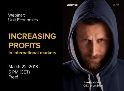 Free Webinar: Increasing profits in international markets