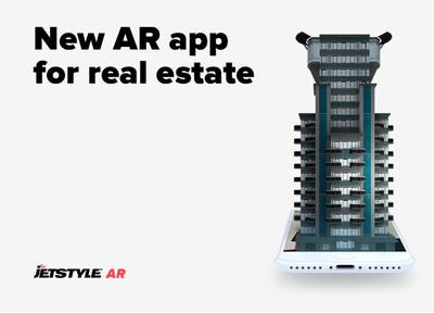Introducing our new app with augmented reality for real estate