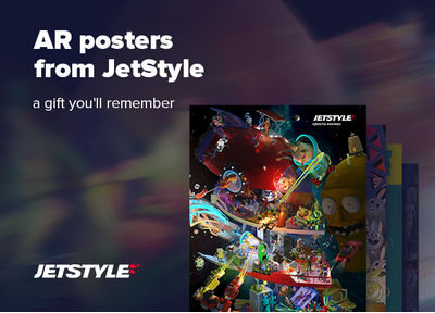 JetStyle: Meet our new posters with augmented reality!