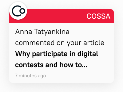 Sharing our experience: Why participate in digital contests and how to choose the relevant one?