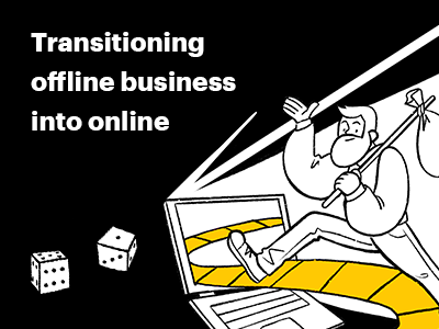 New Article: Transitioning an Offline Business to an Online Format: A Simulation Method