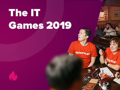 JetStyle: The IT Games 2019 – Brainstorm