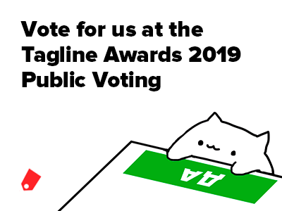 Tagline Awards 2019 Public Voting: Vote for our projects!