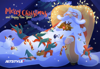Merry Christmas from all of us at JetStyle