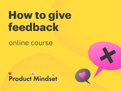 We are launching a practical online course on feedback