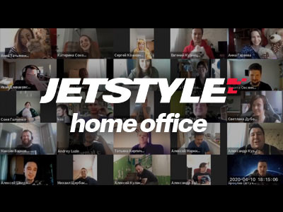 Greetings from JetStyle Team at home – we changed the video on our homepage