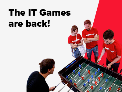 JetStyle: The IT Games are back! Table Soccer