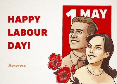 Happy Labour Day from JetStyle!