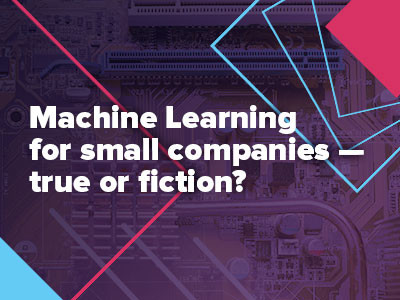 Speaking at the RIW 2019: Machine Learning for small companies – true or fiction?