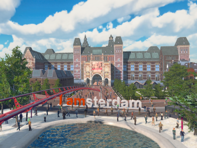 Case study: Creation of a VR attraction for A'dam Lookout