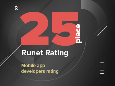 Runet Rating 2019: Mobile app developers ratings