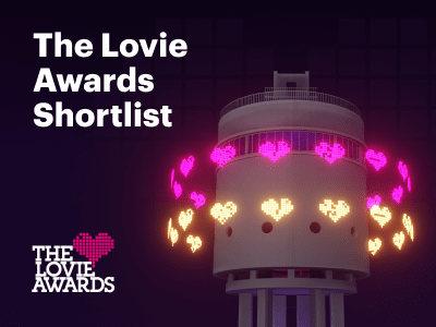 The Lovie Awards – we've been shortlisted!