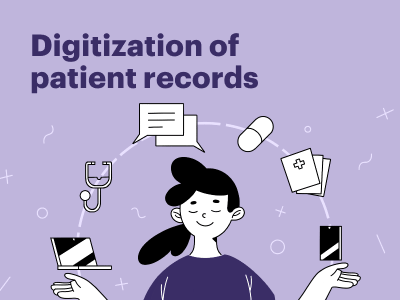 Digitization of patient records: how to conduct a study and create a meaningful concept