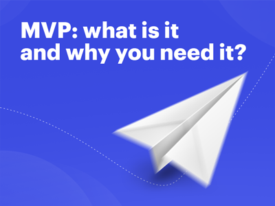 Notes from the lecture at the University 20.35: What is MVP and why you need it?