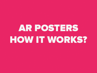 AR poster: what it is and how it works