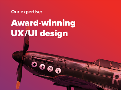 Our Expertise: Award-winning UX/UI Design