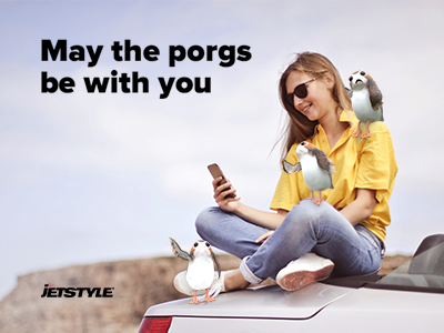 Porgs on board! A new app with augmented reality from JetStyle