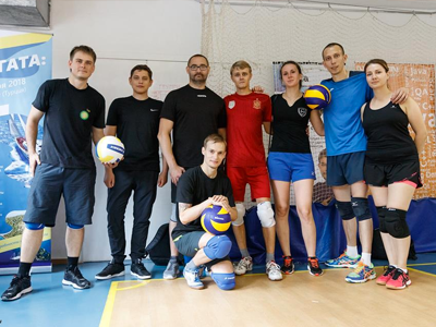 JetStyle: The IT Games 2018 – Volleyball