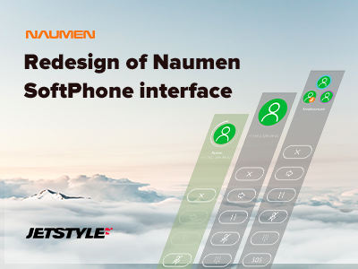 Case Study: Redesign of Naumen SoftPhone interface