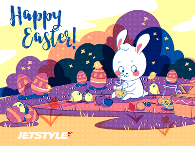 Happy Easter from the team at JetStyle!