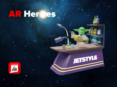 JetStyle: Meet our dancing AR Heroes