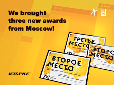 New Golden Site and Golden App 2018 awards for JetStyle