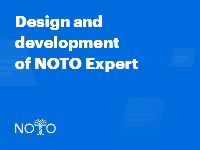 Case study: Design and development of NOTO Expert crowdsourcing system