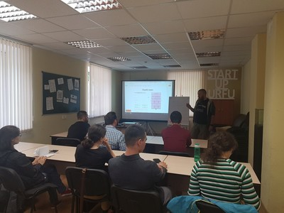 JetStyle: Alexey Kulakov at the X UrFU Accelerator for startups