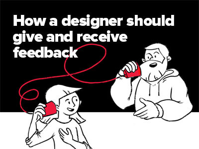 A lecture by Alexey Kulakov – How a designer should give and receive feedback – now with English subtitles