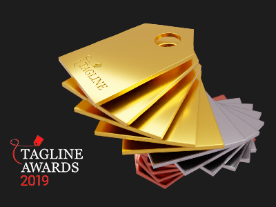Tagline Awards 2019 results: we won 18 awards!