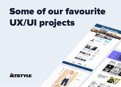 JetStyle: A selection of our UX/UI projects