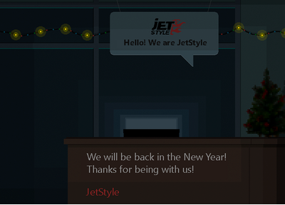 Happy New Year from JetStyle!