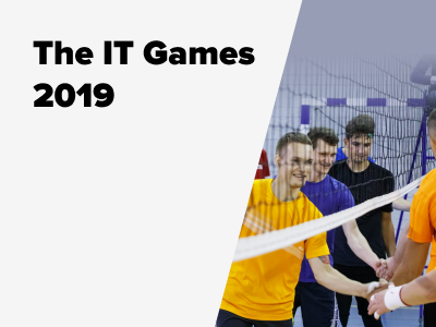 JetStyle: The IT Games 2019 – Volleyball